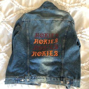 Hokies VT Jean jacket